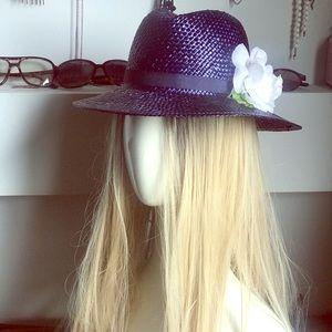 Perfect vintage wicker hat